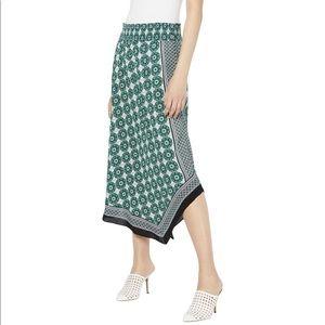 INC Pull On Asymmetrical Skirt NWT